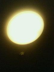 天井を眺め・・・