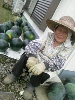 スイカおばあちゃん