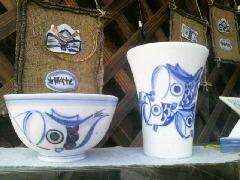 有田陶器市でかわいいお茶碗