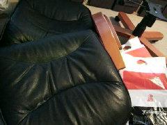 椅子張替作業