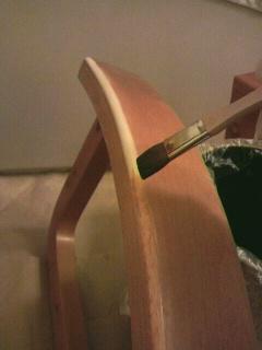 椅子張替作業②
