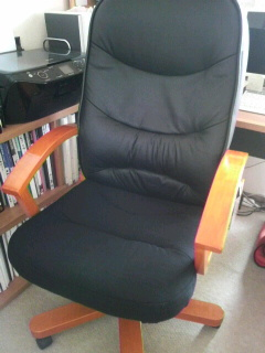 椅子張替作業・終