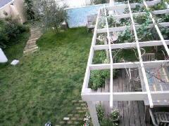 庭に憧れる