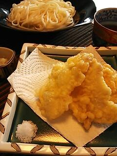 新生姜の天ぷら