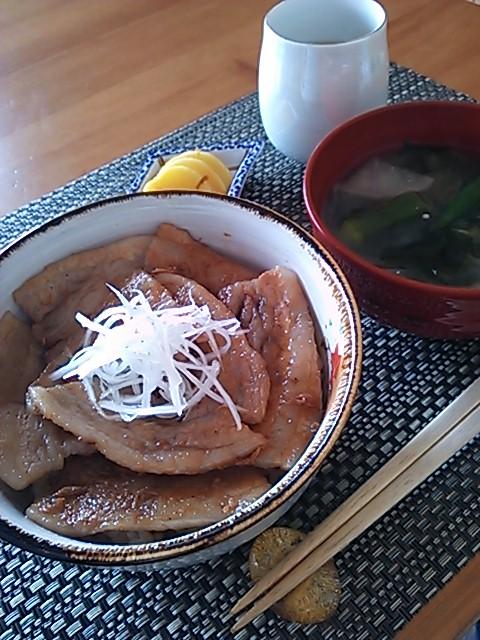 美味しい豚丼♪