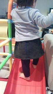 パンツ→スカート